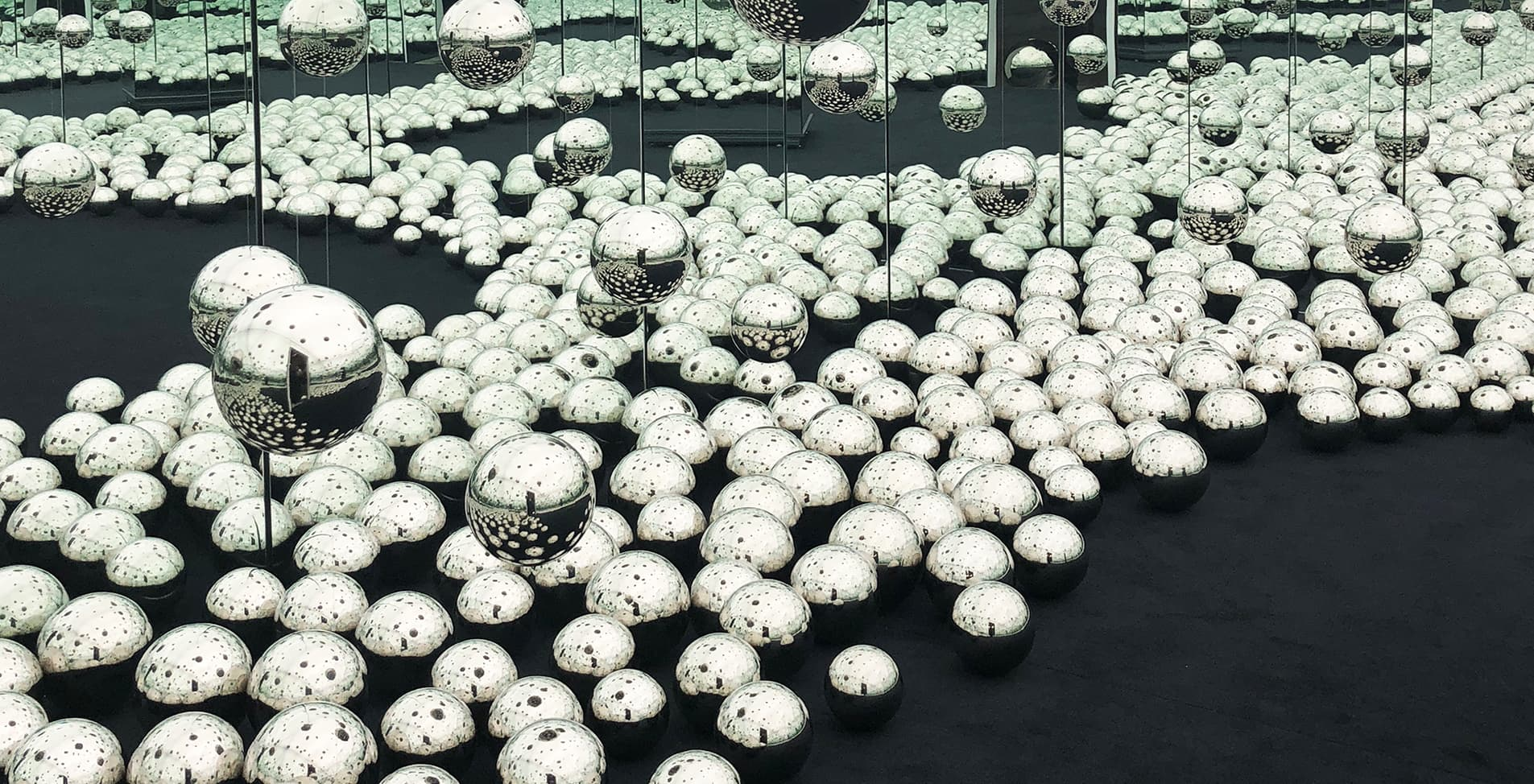 """""""Let's Survive Forever"""", 2017 - Yayoi Kusama at WNDR Museum Chicago"""